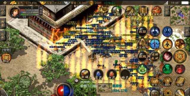 复古传奇私服中游戏沙城捐献地图进入是什么条件?